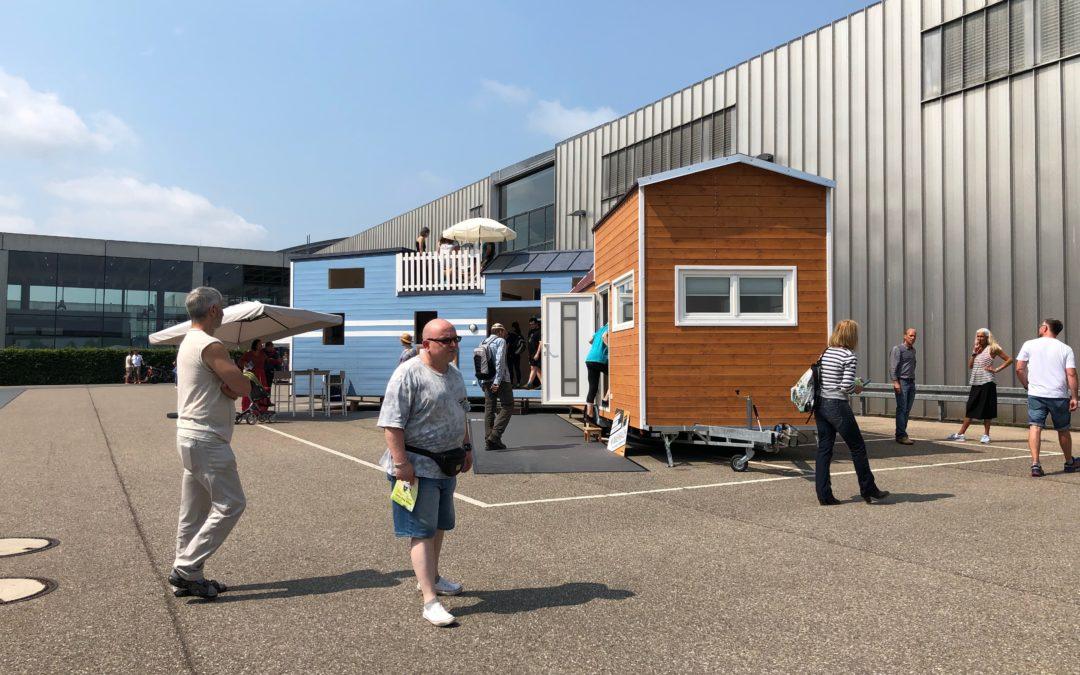 IndiViva vertritt Tiny House Hersteller auf dem Tiny House Festival in Karlsruhe